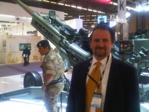 Vartest Technical Director Adam R. Varley At Eurosatory
