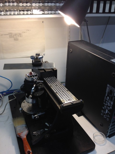 Vartest Microtome